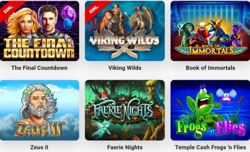 Leo Vegas HD Spiele