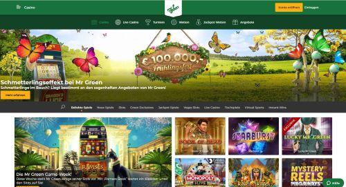 Mr. Green Casino Vorschau