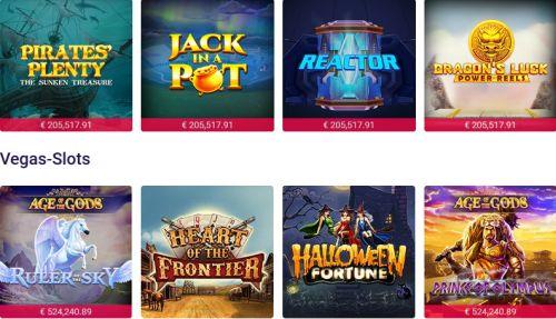 Party Casino HD Spiele